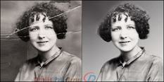 Photo Restoration for Portrait