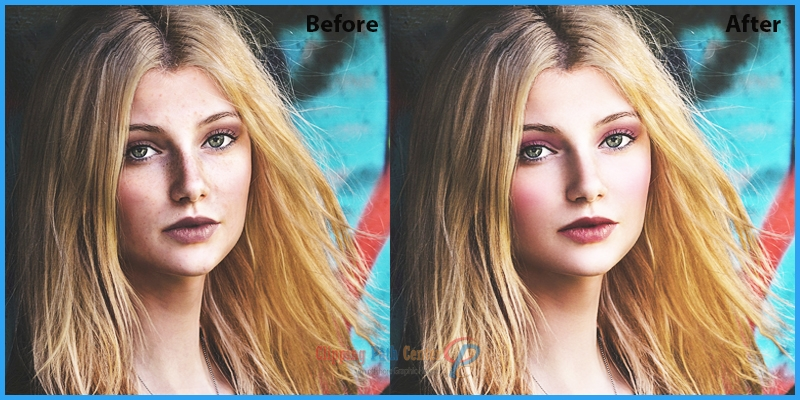 World Class Portrait photo retouching services AT CPC