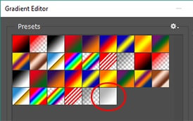 gradient picker tool