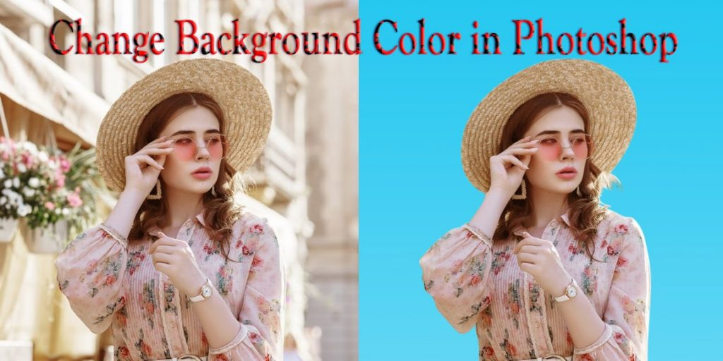 How to Change Image Background Color in Adobe Photoshop
