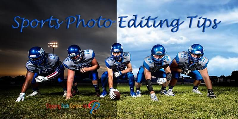 Sports Photo Editing in Photoshop