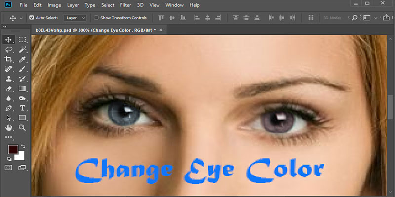 How to Change Eye Color in Photoshop- A Complete Tutorial in 2020