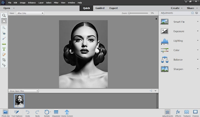 Adobe Photoshop Elements Simple Photo Editing Software