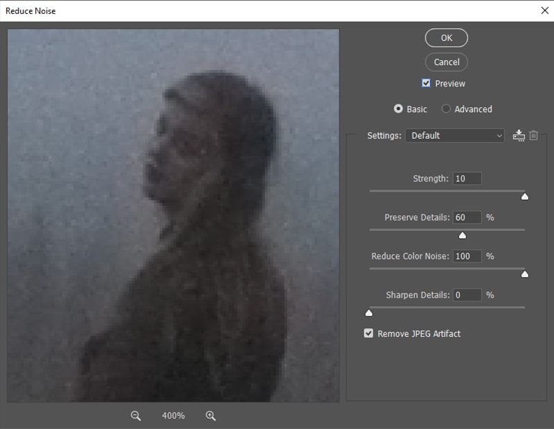 Reduced Color Noise