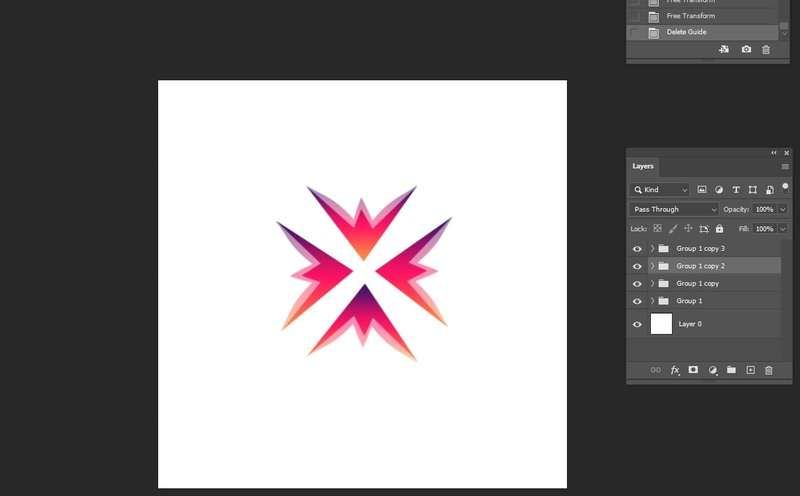 Logo Layer Transform