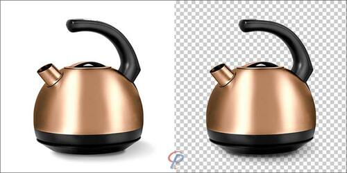 Clipping Path Work Example
