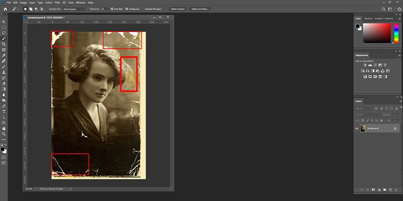 Details Tackling in Photoshop