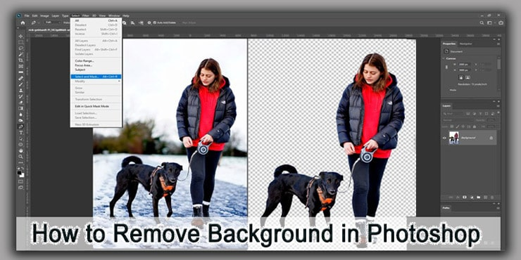 How to Remove Background Photoshop