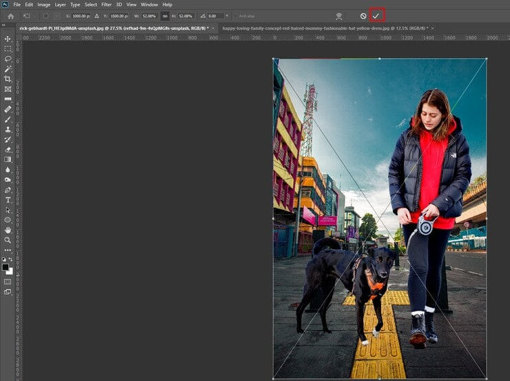 background Changing in Photoshop